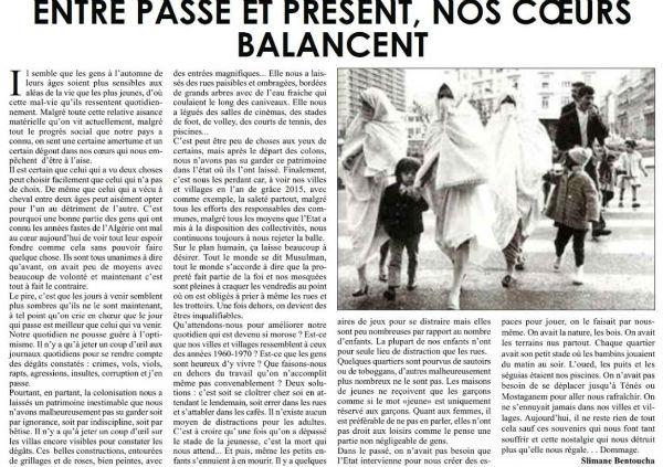 Patrimoine - Article EL Watan