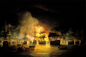 Bombardement alger exmouth